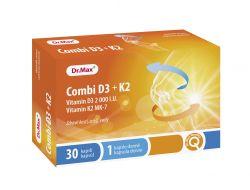 Dr.Max Combi D3 + K2 30 kapslí