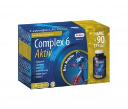 Dr.Max Complex 6 Aktiv dárkové balení 180+90 tablet