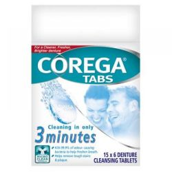 Corega Antibakteriální tablety 6ks