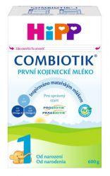 Hipp 1 BIO Combiotik mléko 0M 600 g