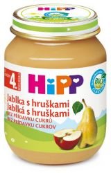 HIPP OVOCE BIO Jablka s hruškami 125g