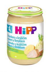 Hipp BABY MENU BIO Brambory s králičím masem a fenyklem 190 g