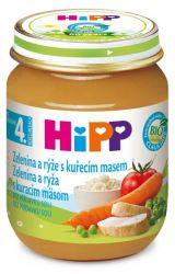 Hipp Zeleninová omáčka s rýží a kuřecím masem 125 g
