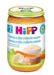 Hipp JUNIOR MENU BIO Zelenina s rýží a telecím masem 220 g