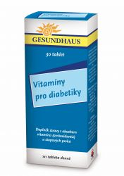 Vitamíny pro diabetiky 30 tablet