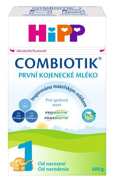 94c26a7317e HiPP 1 BIO Combiotik mléko 600g 0M