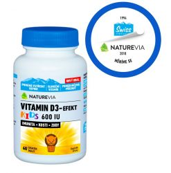 Swiss NatureVia Vitamin D3-Efekt Kids 60 tablet