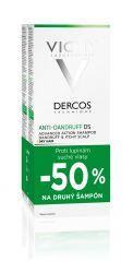 Vichy Dercos Šampon proti lupům na suché vlasy duopack 2x200 ml