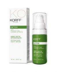 KORFF Detox noční sérum 30 ml