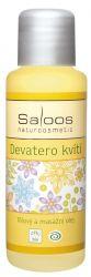 Saloos Masážní a tělový olej Devatero kvítí 50 ml