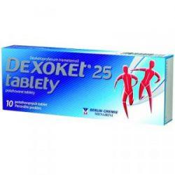 Dexoket 25 10 tablet