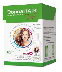 Donna Hair FORTE 3 měsíční kúra 90 tobolek + šampon 100 ml