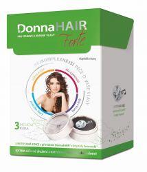 Donna Hair FORTE 3 měsíční kúra 90 tobolek + přívěšek Swarovski Elements