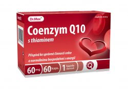 Dr.Max Coenzym Q10 60 mg s thiaminem 60 kapslí