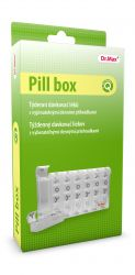 Dr.Max Pill box týdenní dávkovač léků