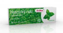 Dr.Max Hroznový cukr s vitaminem C máta 14 pastilek