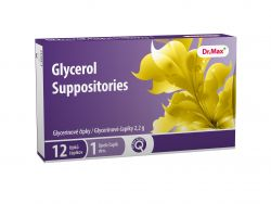 unes Glycerol Suppositories 12 čípků