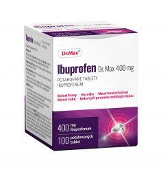 Dr.Max Ibuprofen 400 mg 100 potahovaných tablet
