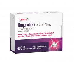 Dr.Max Ibuprofen 400 mg 36 potahovaných tablet