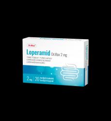 Dr.Max Loperamid 2 mg 20 tobolek