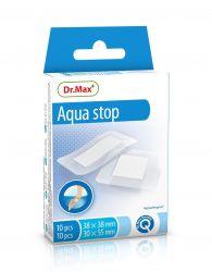 Dr.Max Aqua stop 2 velikosti voděodolná náplast 20 ks