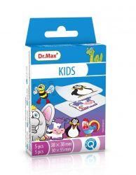 Dr.Max KIDS 2 velikosti náplast dětská 10 ks