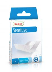 unes Sensitive 6 cm x 1 m náplast hypoalergenní 1 ks