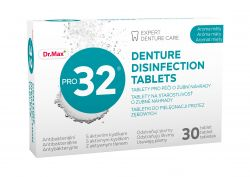 Dr.Max PRO32 Dentures Tabs 30 tablet