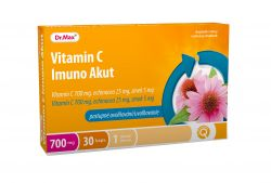 unes Vitamin C Imuno AKUT 30 kapslí