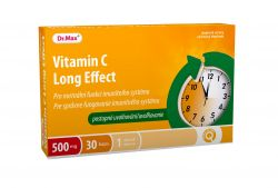 Dr.Max Vitamin C long effect 500 mg 30 tobolek