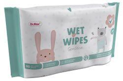 Dr.Max Wet Wipes Sensitive vlhčené ubrousky 80 ks