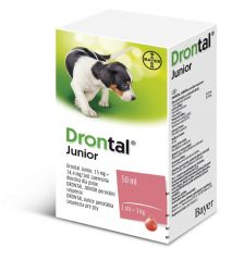 Drontal Junior perorální suspenze 50 ml