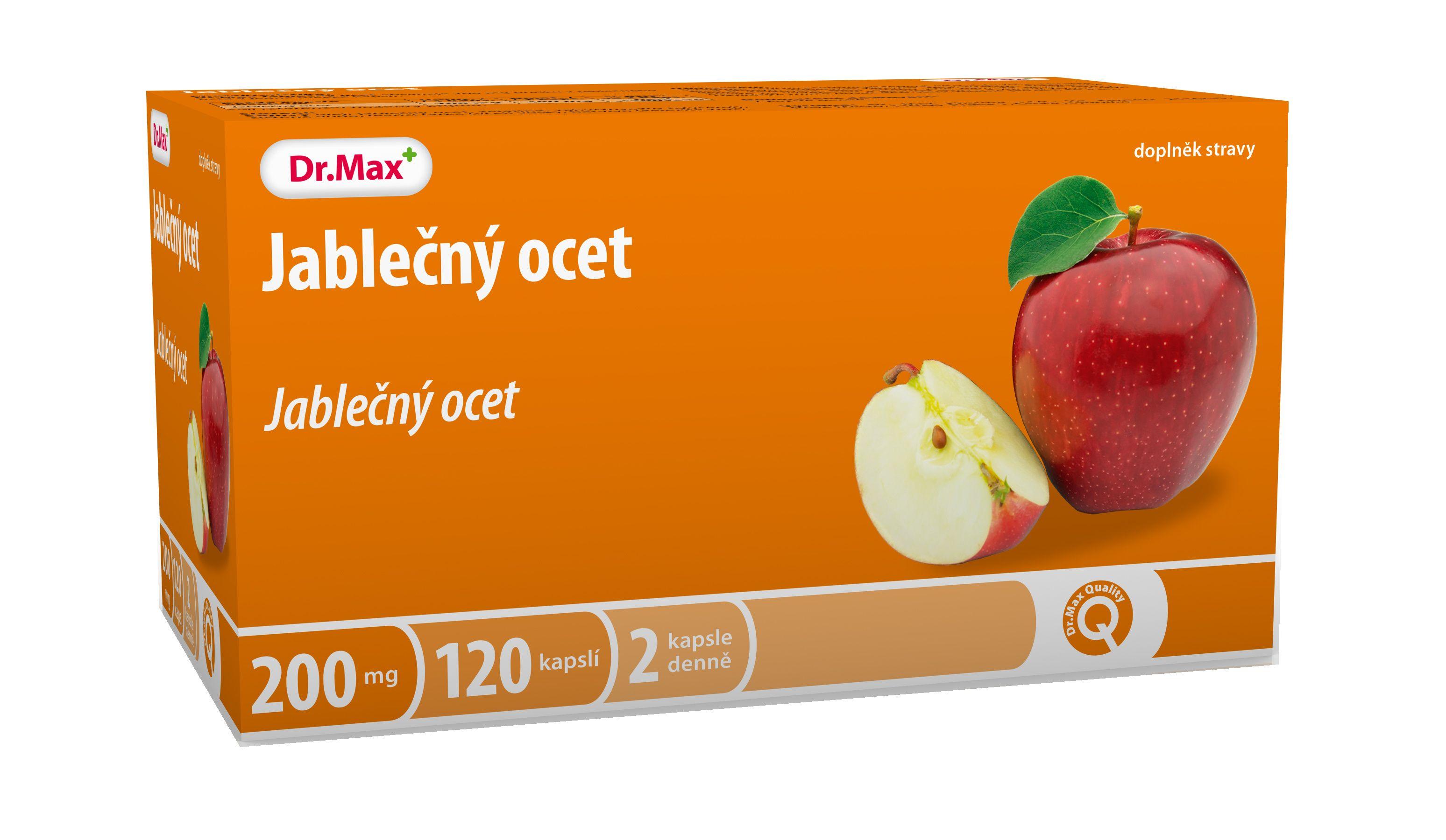 Dr.Max Jablečný ocet 120 kapslí