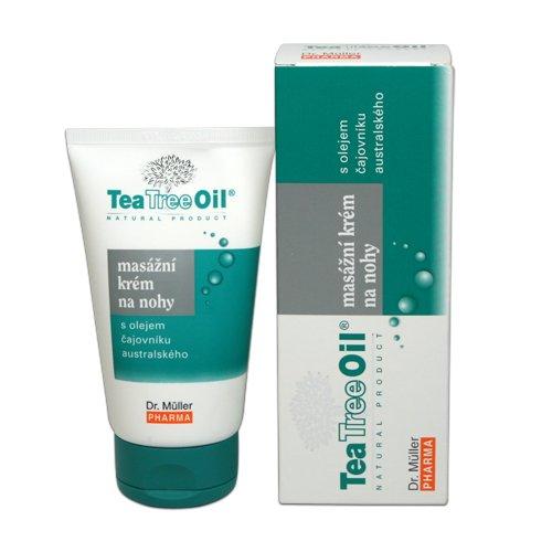 Dr.Müller Tea Tree Oil masážní krém na nohy 150ml