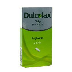 Dulcolax 10 mg 6 čípků