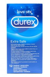 Durex Extra Safe kondomy 12 ks