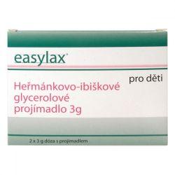 Easylax Dětské glycerolové projímadlo ampule 2x3 g