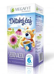 Megafyt Dětský čaj s echinaceou 20x2 g