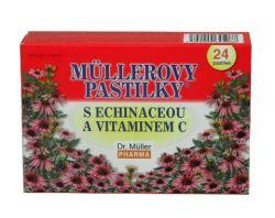 Dr.Müller Müllerovy pastilky s echinaceou 24 pastilek