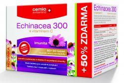 Cemio Echinacea 300 s vitaminem C 60+30 tablet
