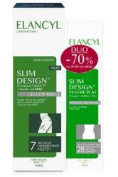Elancyl Slim Design Noční + Ploché břicho set 200 ml + 150 ml