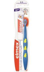 Elmex Dětský cvičný kartáček 0-3 roky 1 ks + vzorek zubní pasty