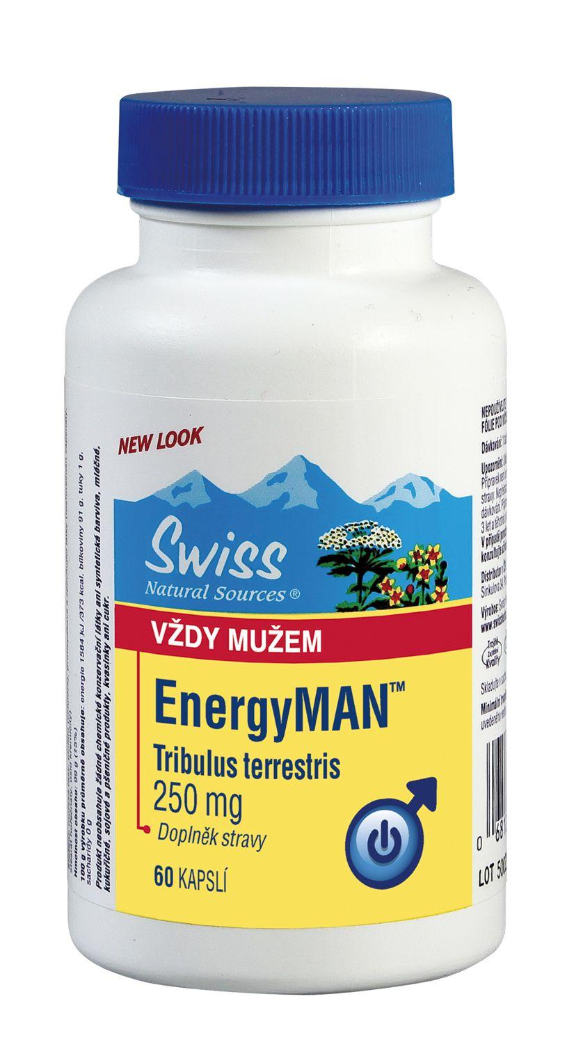 Swiss EnergyMAN libido 60 kapslí