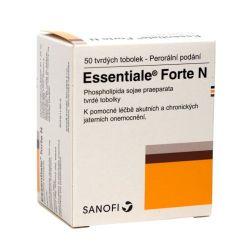 Essentiale Forte N 50 tvrdých tobolek