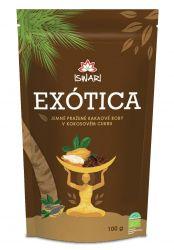 Iswari BIO Exótica Kakaové boby v kokosovém cukru 100 g