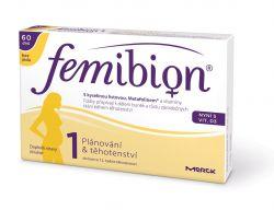 Femibion 1 s vitaminem D3 bez jódu 60 tablet