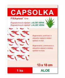 Capsolka Kapsaicínová náplast s Aloe vera 13x18 cm