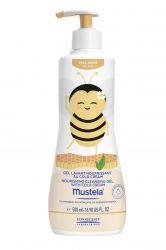 Mustela Vyživující čisticí tělový a vlasový gel obohacený o cold cream 500 ml