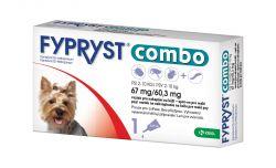 Fypryst Combo spot-on pro malé psy 2-10 kg 67 mg/60,3 mg roztok pro nakapání na kůži 1x0,67 ml