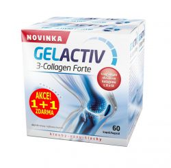 Gelactiv 3-Collagen Forte 60+60 kapslí